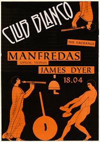 Club Blanco w/ Manfredas in Bristol