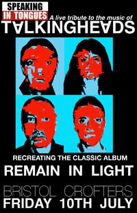 REMAIN IN LIGHT 2020 in Bristol