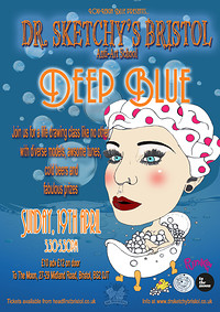 Dr. Sketchy - Deep Blue in Bristol