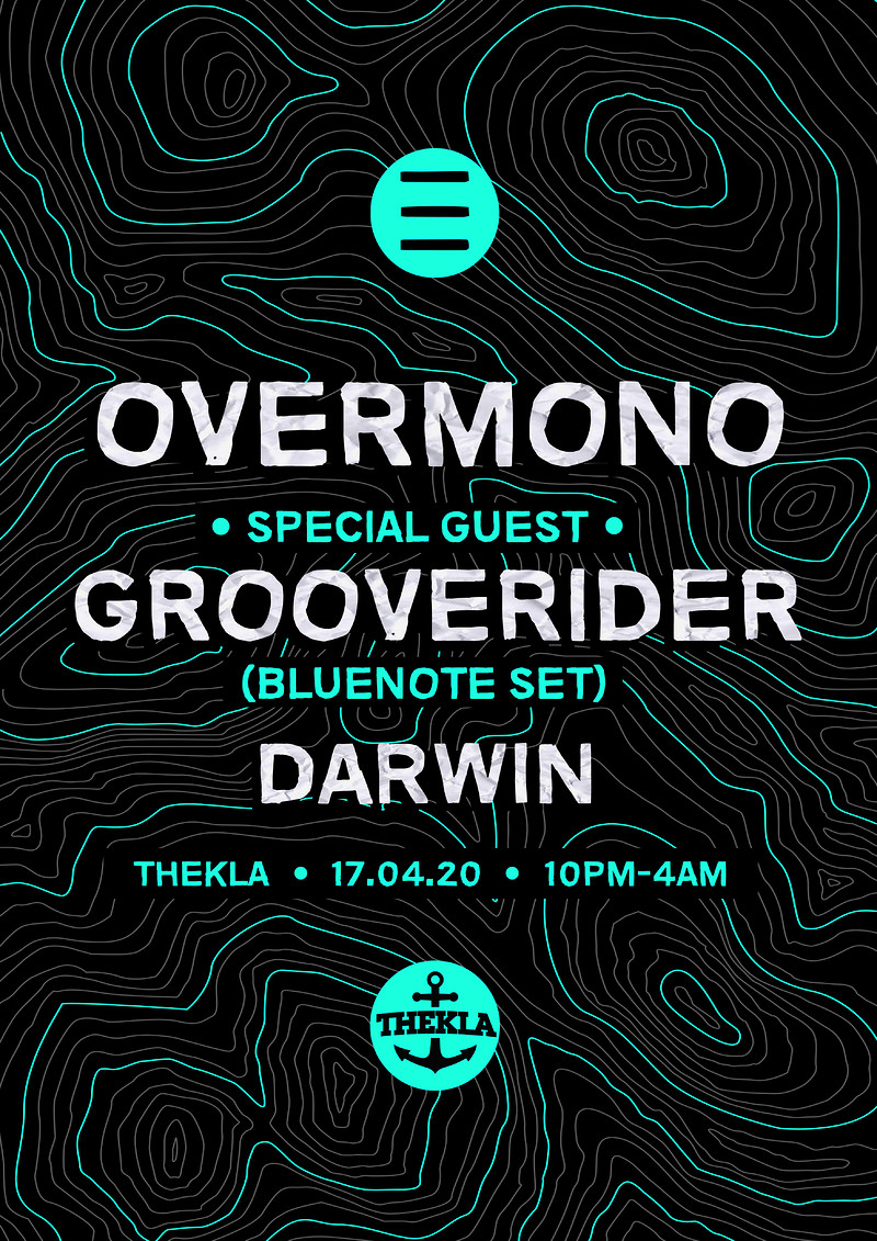 ESO Pres. Overmono, Grooverider, Darwin at Thekla