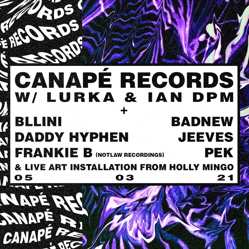 Canapé w/ Lurka & Ian DPM (New Date) at Exchange