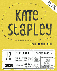 KATE STAPLEY + JOSIE BLAKELOCK (live) in Bristol