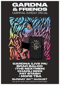 Gardna & Friends ; Carnival Sunday Special in Bristol