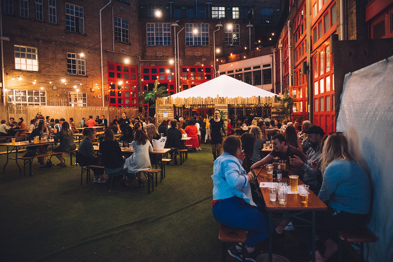 SUNDAY 30th AUGUST TABLE RESERVATION at Bridewell Beer Garden