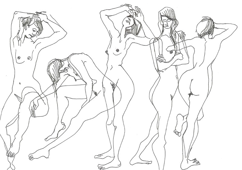 Adult Life Drawing (On Zoom) 18+ at Arnolfini