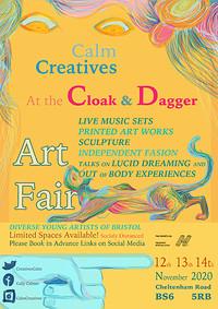 The Calm Creatives Art Fair in Bristol