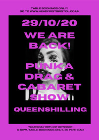 Punka at the Queenshilling in Bristol