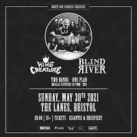 King Creature & Blind River in Bristol