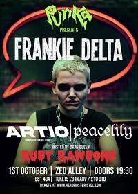 Punka Presents: FRANKIE DELTA / ARTIO / PEACELILY in Bristol