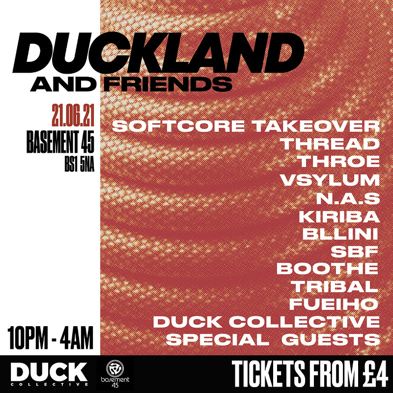 DUCKLAND & Friends Big Bash Back at Basement 45