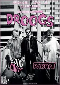 Wise Monkey Presents: Droogs + Longcoats & Padrat in Bristol