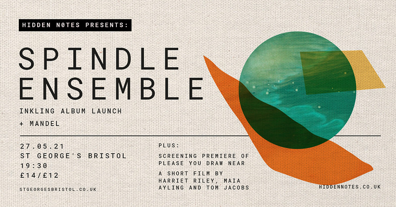 Spindle Ensemble | Inkling album launch at St George's Bristol