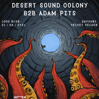 Hidden: Desert Sound Colony b2b Adam Pits in Bristol