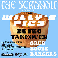 Willy's Pies x Jake Knight: Scrandit Takeover in Bristol
