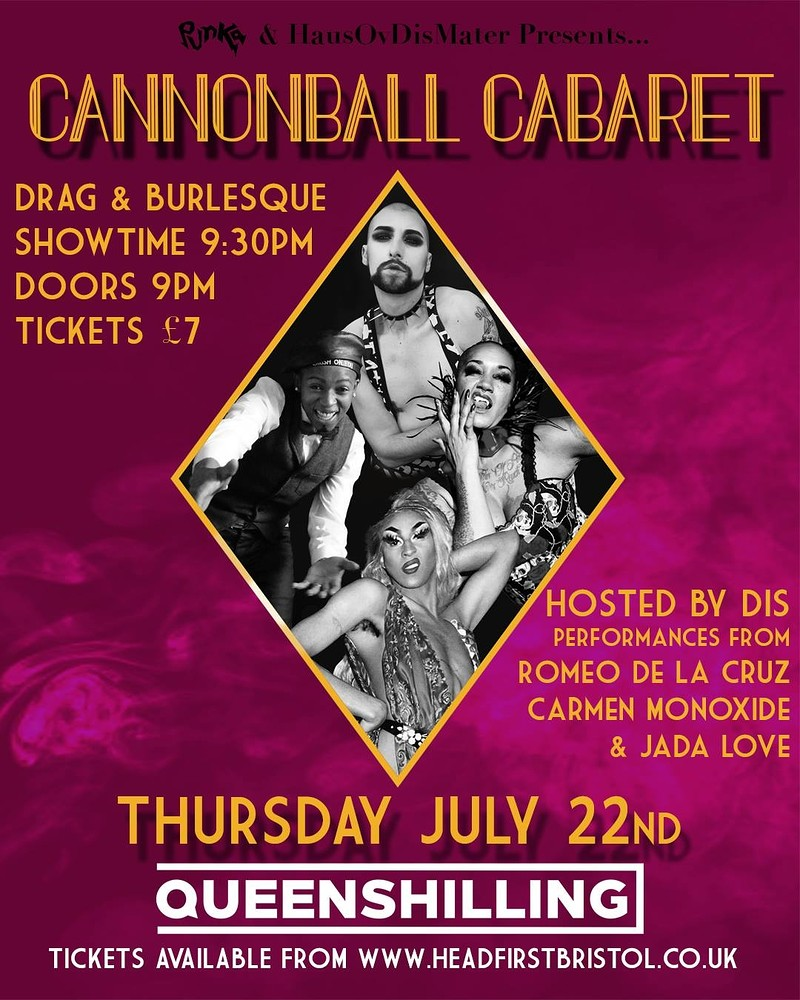Cannonball Cabaret at Queenshilling