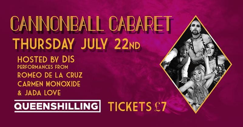 Cannonball Cabaret in Bristol 2021