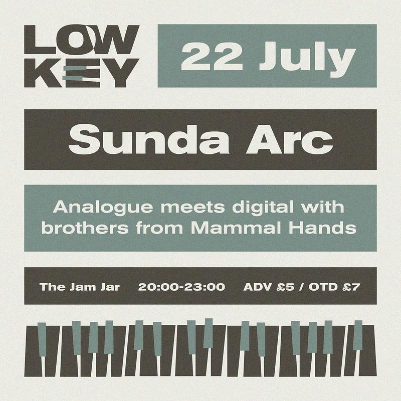 Lowkey 004: Sunda Arc at Jam Jar