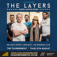 WE NEED BANDS   The Layers (Album Launch) in Bristol