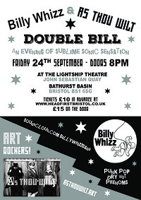 Billy Whizz & As Thou Wilt at the Lightship in Bristol