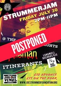 Strummerjam, Talisman+Itinerants support in Bristol