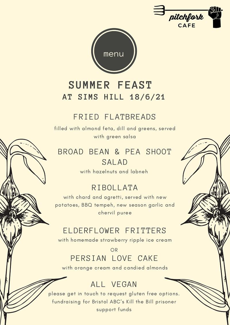 Summer Feast at Sims Hill at Grow Wilder