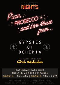 Gypsies of Bohemia - LIVE w. pizza and prosecco! in Bristol
