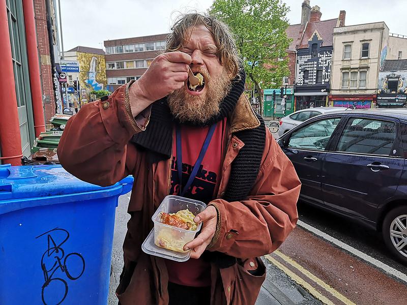 Stokes Croft Food Project Raffle in Bristol 2021