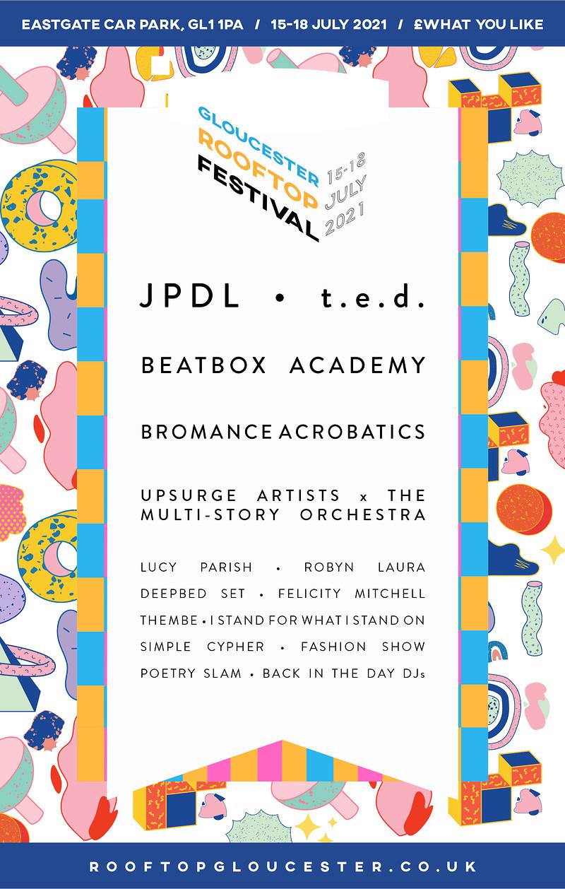 Gloucester Rooftop Festival in Bristol 2021