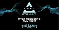 Apex.@ The Lanes - Techno all night in Bristol