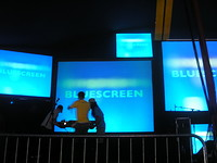 Bluescreen: Back at the Cube!  in Bristol