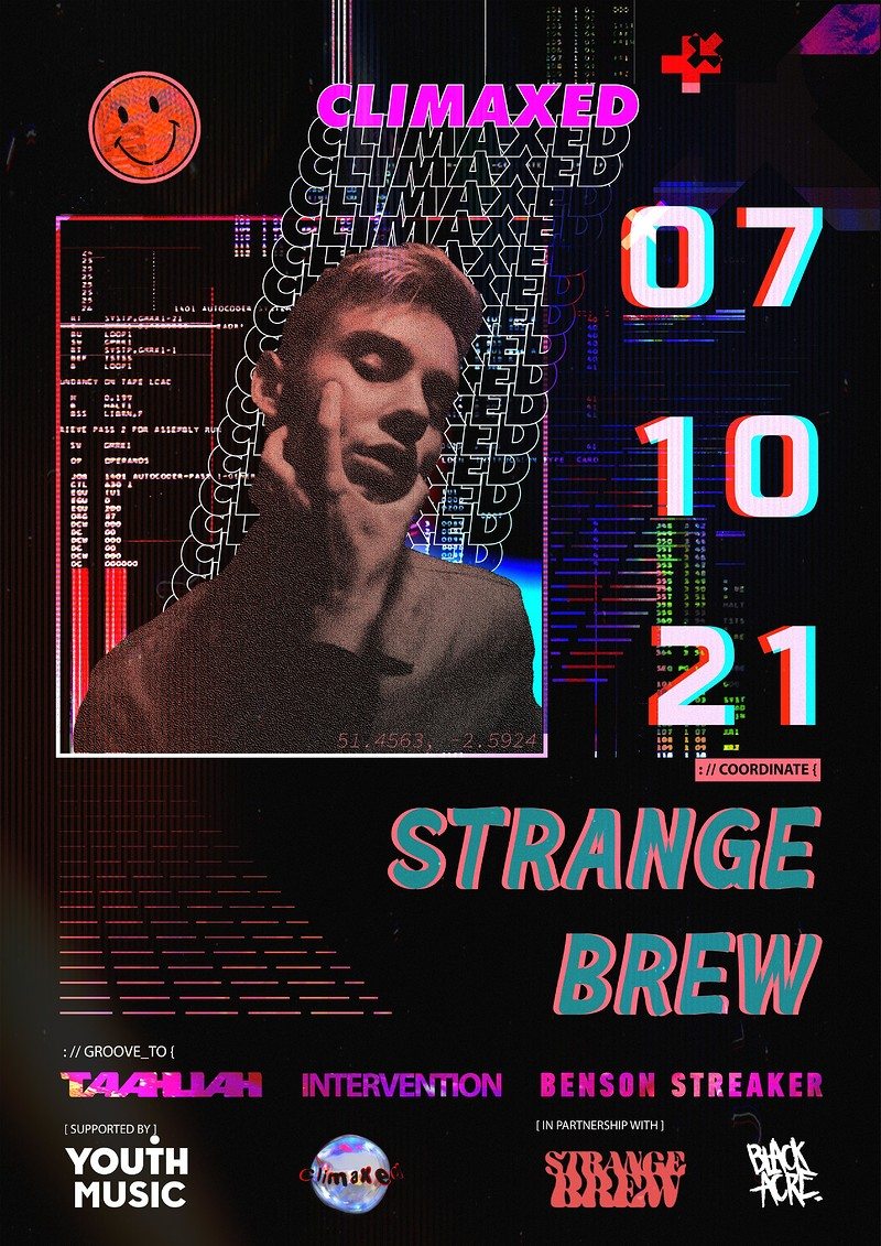 CLIMAXED at Strange Brew