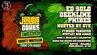 Jungle Cakes: Bristol [Ed Solo, Deekline, Phibes] in Bristol