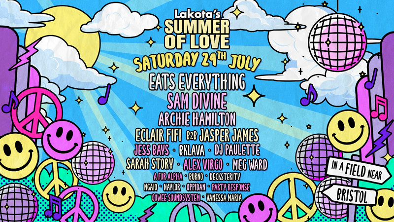 Lakota's Summer of Love Festival  in Bristol 2021