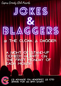 Capers Comedy Club: Jokes & Blaggers in Bristol