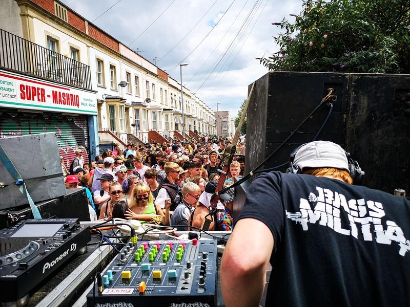 Bass Militia - Pop Up Party in Bristol 2021