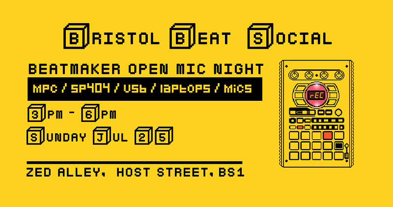 Bristol Beat Social (Rescheduled) at Zed Alley