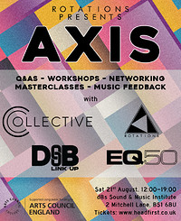Rotations presents: AXIS in Bristol