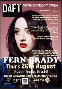 DAFT#2: Fern Brady  in Bristol