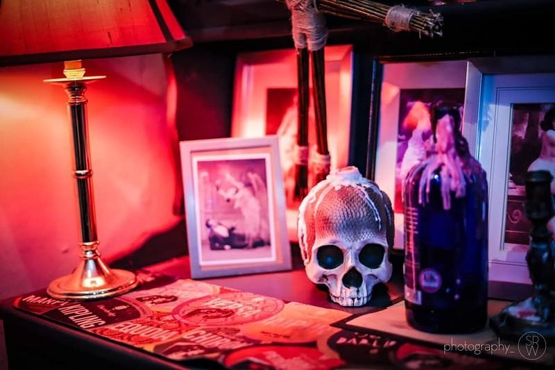 Magic Malka, conjurer extaordinaire! at Cloak and Dagger, The