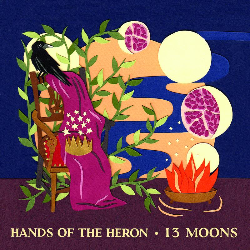 Hands of the Heron album launch + Tamsin Elliott at St Anne's Church, Greenbank