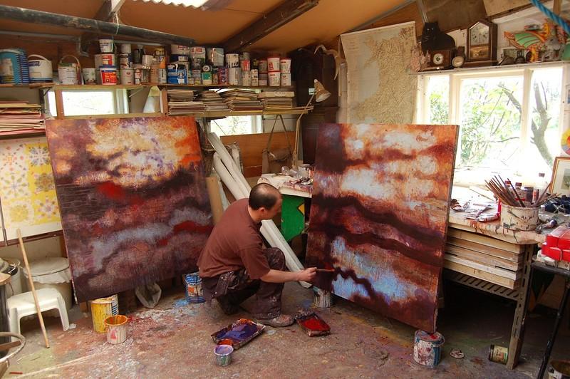 Geoff Oke - Artwork Retrospective in Bristol 2021