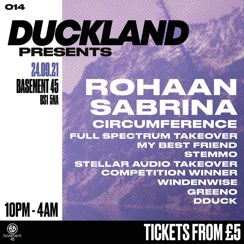 Duckland 014 w/ Rohaan, Sabrina & Circumference at Basement 45