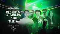 DTM • Gray B2B Crossy w/ Trafic, Zoro, Sabrina in Bristol