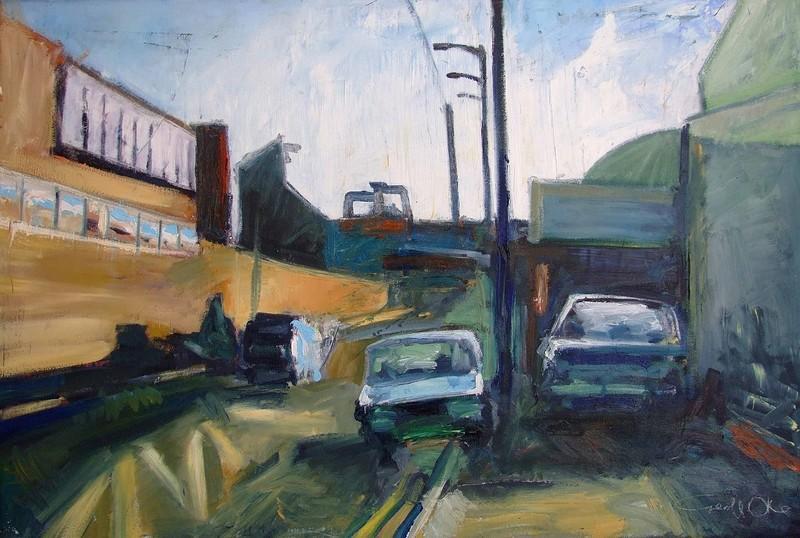 Geoff Oke - Artwork Retrospective at Centrespace