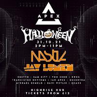 Apex Halloween: Nastia & Jay Lumen  in Bristol