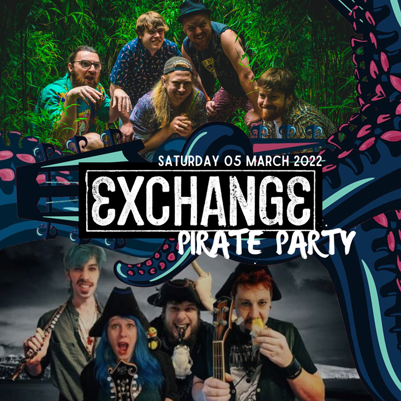 Pirate Party with Imprints & JollyRoger at Exchange