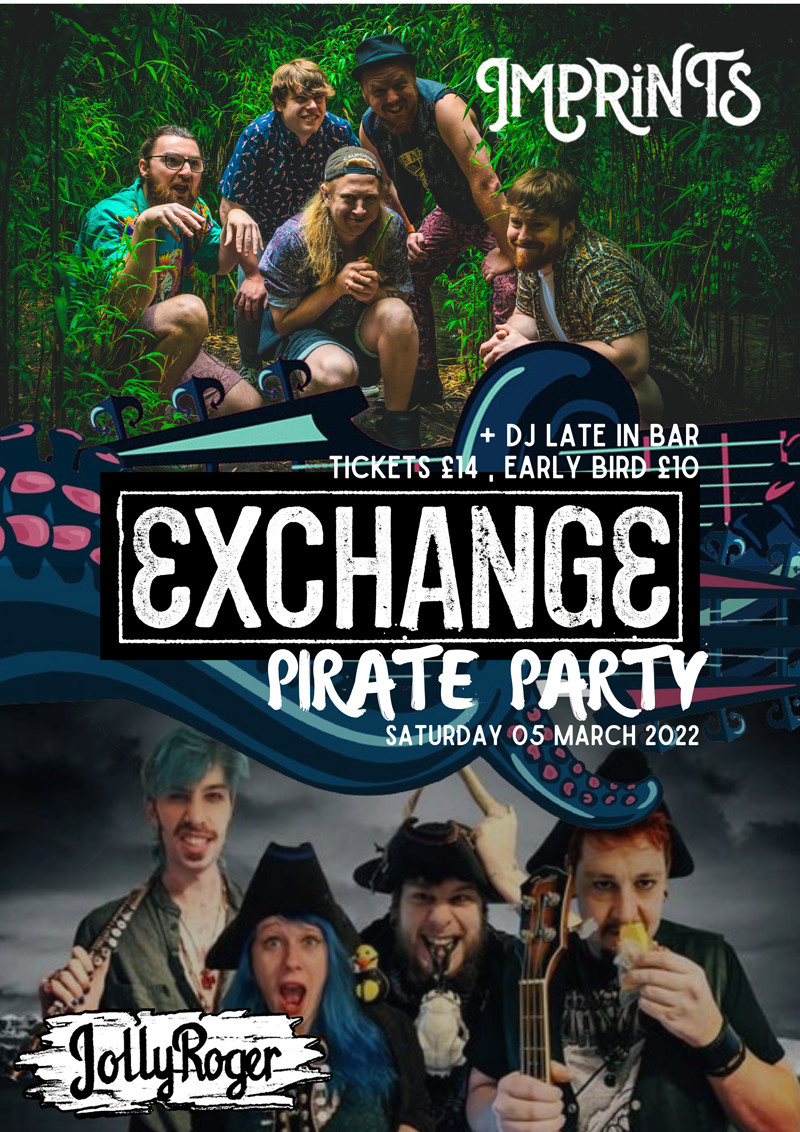 Pirate Party with Imprints & JollyRoger in Bristol 2022