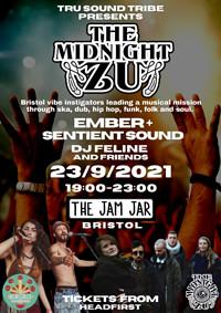 The Midnight Zu /Ember and Sentient Sound /Feline in Bristol