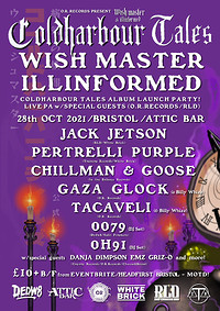 Wish Master X llinformed Cold Harbour Tales  Album in Bristol