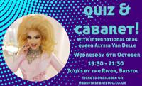 Cabaret & quiz with Alyssa Van Delle in Bristol